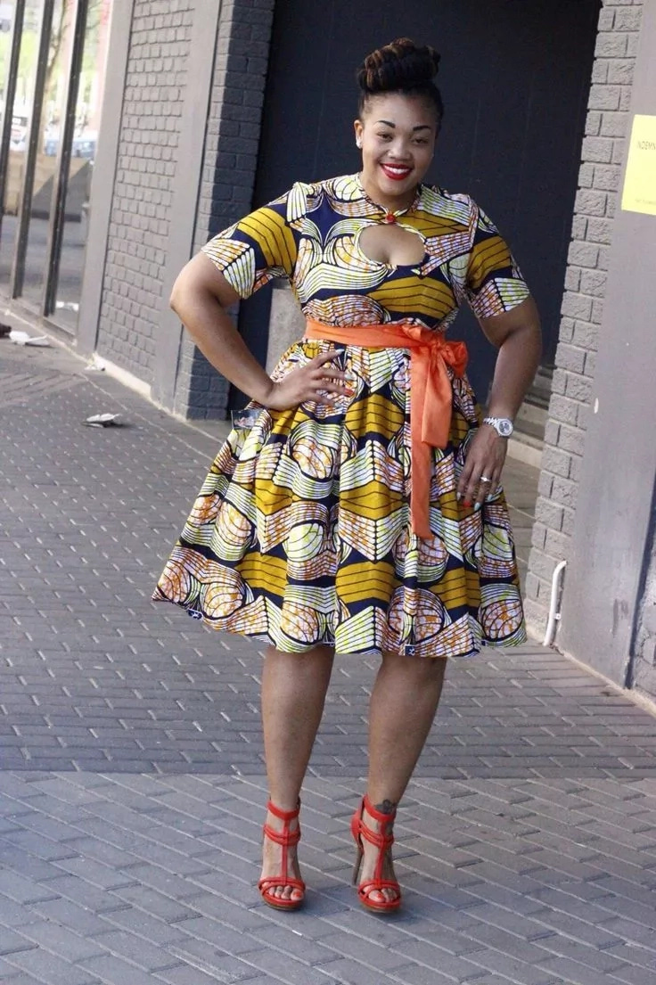 2018 Trends Of African Print Dresses For Plus Size Ladies ▷